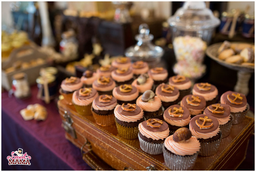 Cupcakes marinos