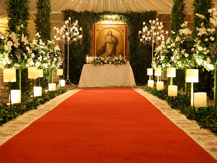 Cerimônia Religiosa - Mansão Rosa
