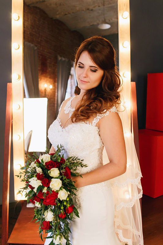 невеста Анечка макияж и причёска - Нелли Шварц фотограф - Анастасия Гусарова
