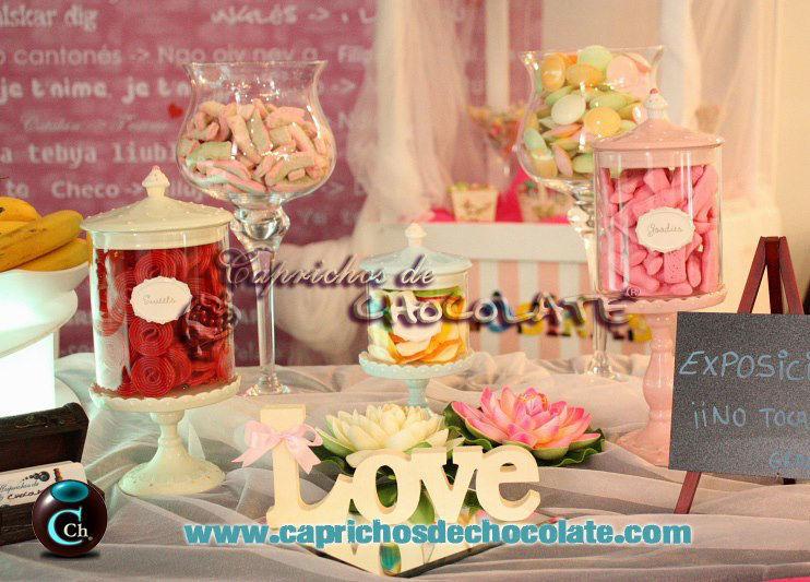Caprichos de Chocolate Candybar