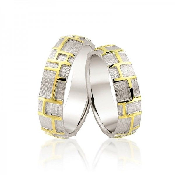 Beispiel: Trauringe - Bicolor, Foto: Juwelier Goldfee.