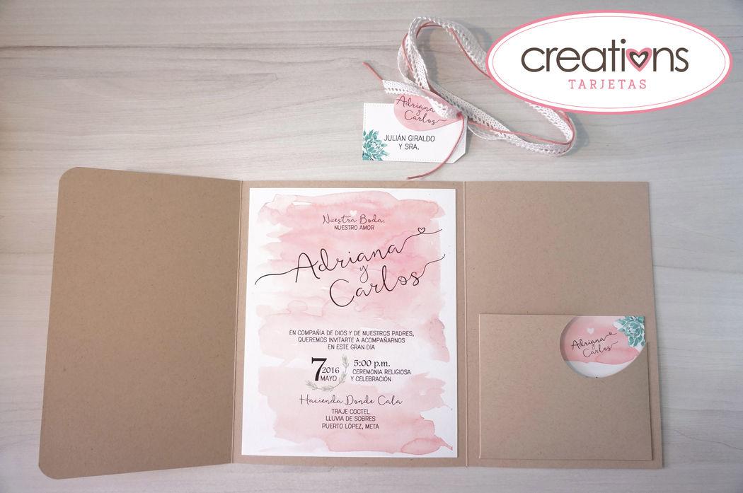 creation vintage - acuarela