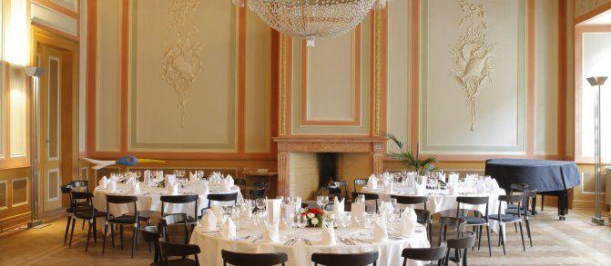 Beispiel: Bankettsaal, Foto: Sorell Hotel Rüden.