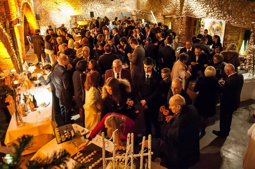 Cocktail dans une cave par Catalan Events