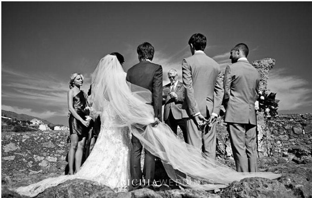 Special ceremony by Caprichia