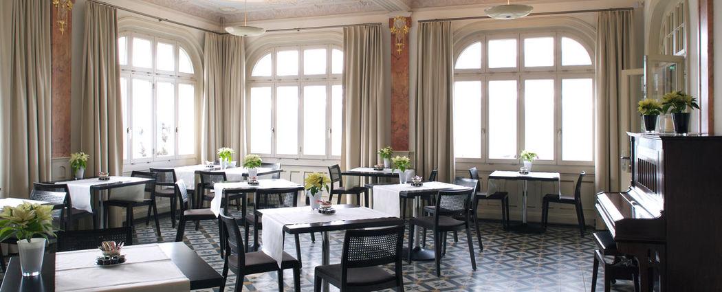 Beispiel: Eindruck von den Räumlichkeiten, Foto: Jugendstil-Hotel Paxmontana.