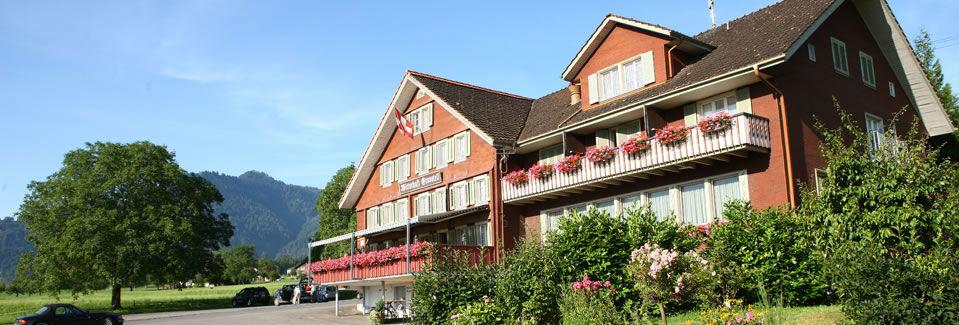 Beispiel: Außenansicht, Foto: Landgasthof Grossteil.