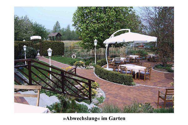 Beispiel: Terrasse und Garten, Foto: AKZENT Landhaus Schellhorn.