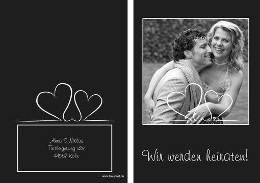 Hochzeitseinladungen mit eigenen Fotos