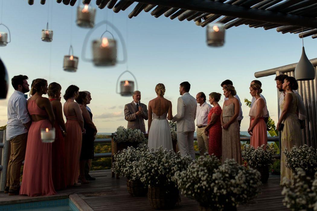 Casamento em Trancoso - BA Foto: Vini Brandini