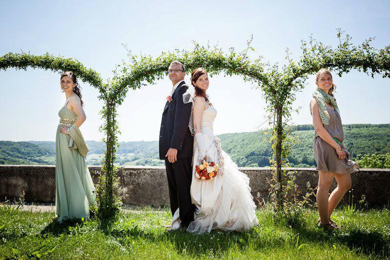 Beispiel: Gruppenbilder, Foto: Matt Stark WeddingGraphy.