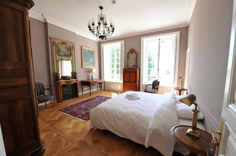Château de Carsix chambre