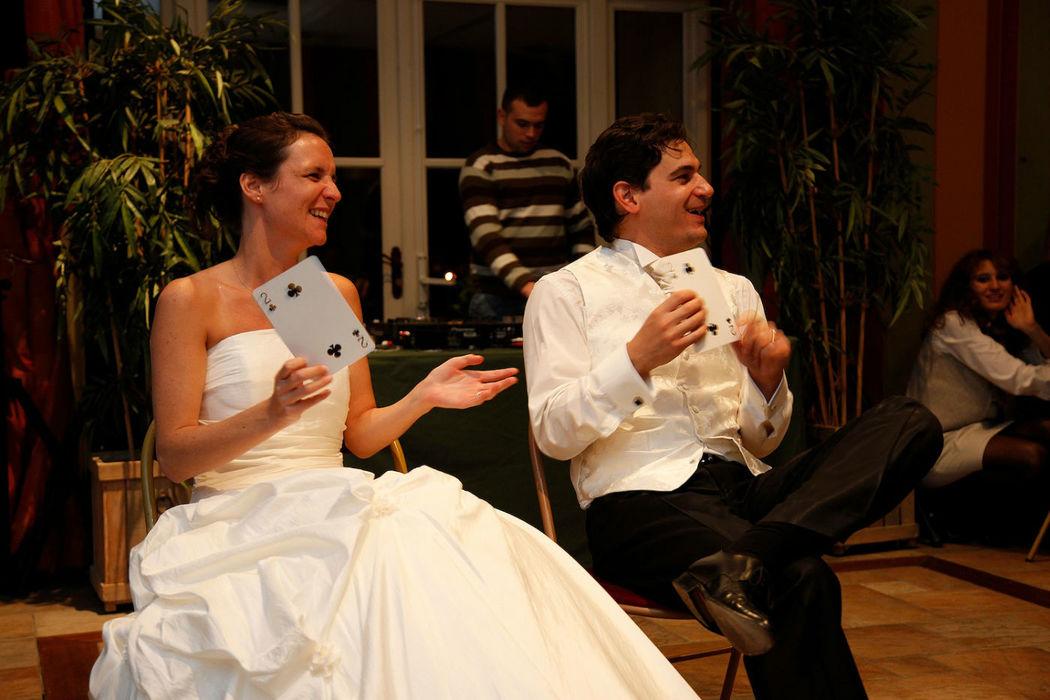 Magic Régis - Final avec les mariés