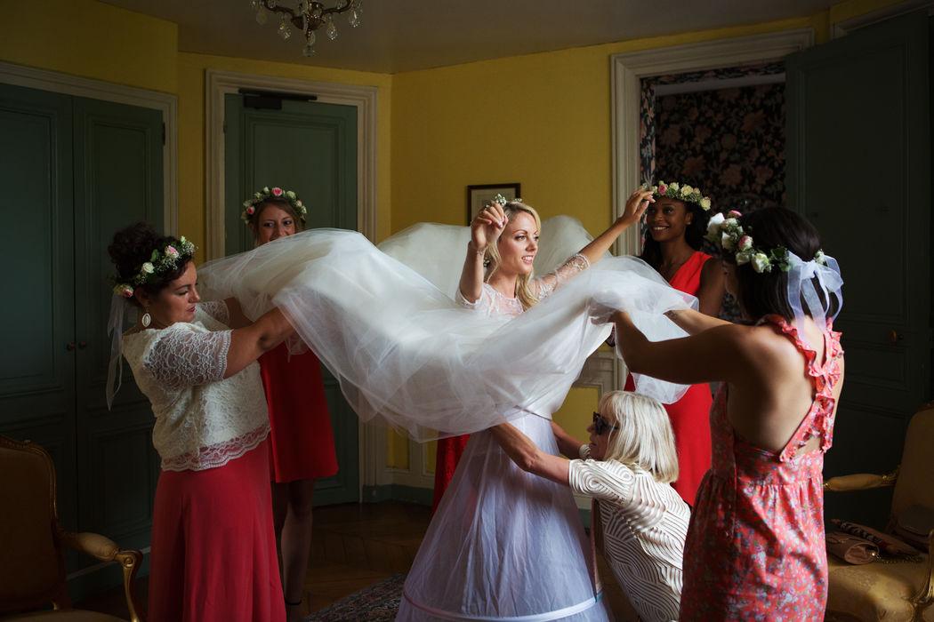 Mariage au Château d'Ermenonville