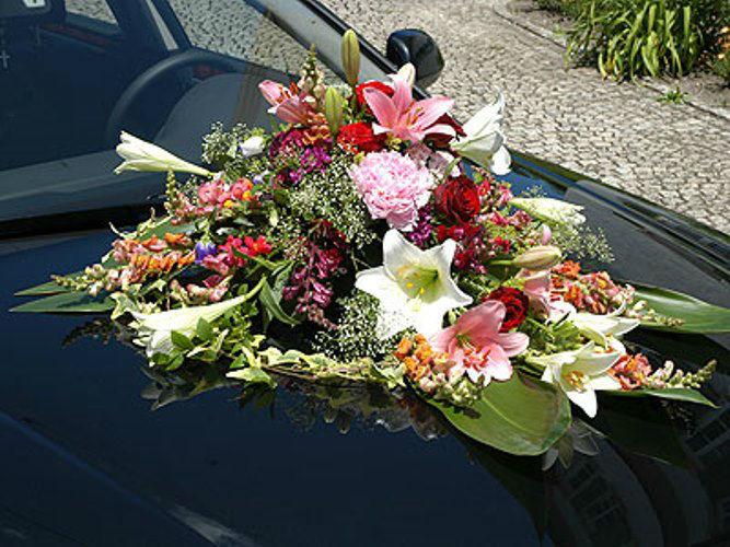 Beispiel: Autogesteck, Foto: Blütenraum.
