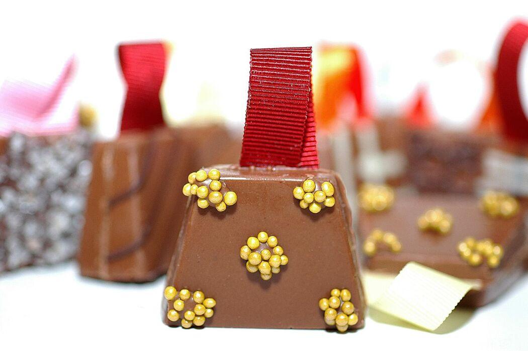 Bolsinha de chocolate
