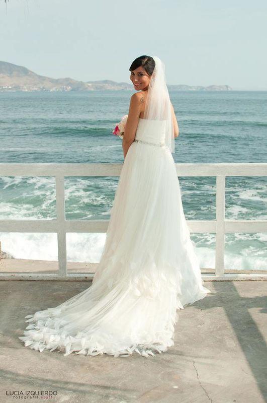 Gloria Maquillaje con aerógrafo para boda en la playa