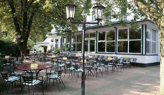 Beispiel: Restaurant-Terrasse, Foto: Schlossgarten.