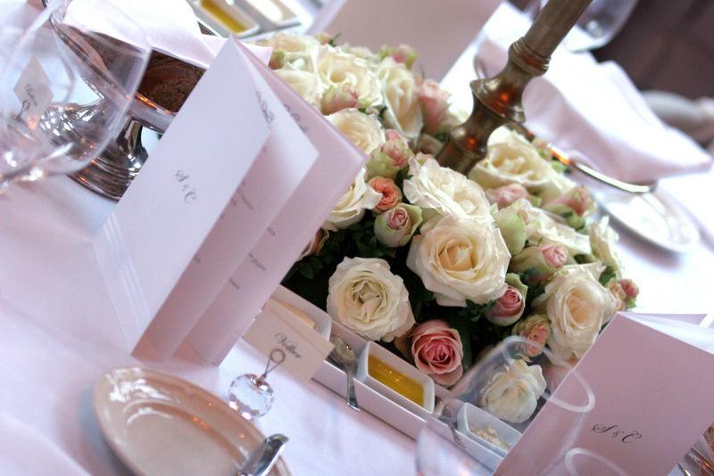 Beispiel: Tischdekoration, Foto: Lucia Sposa.