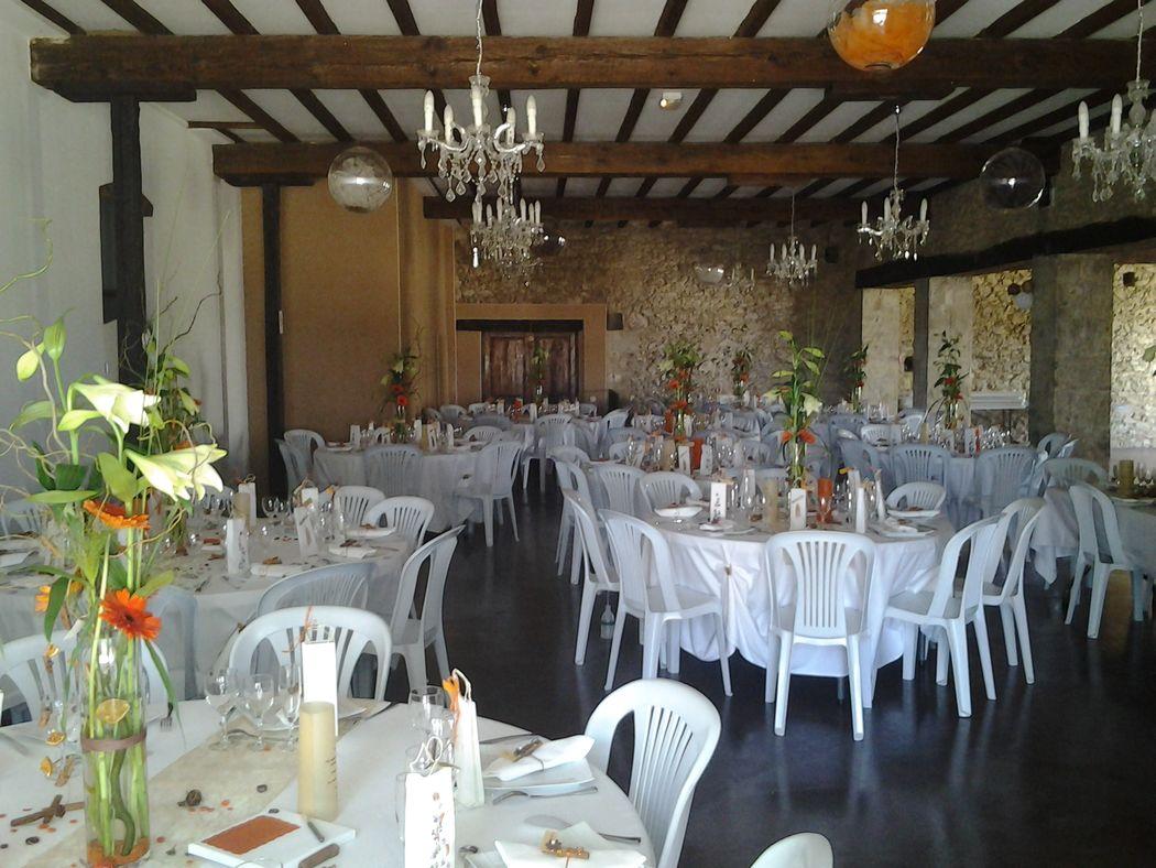 décoration mariage par art floral
