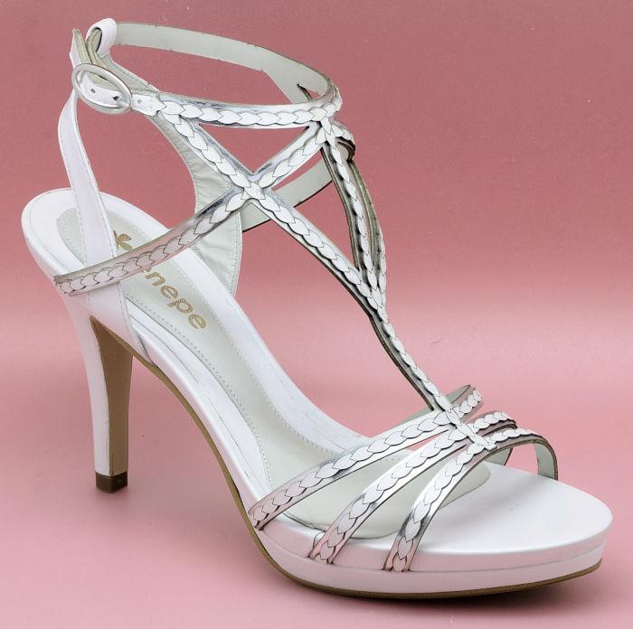 Zapato de novia enepe Agripina