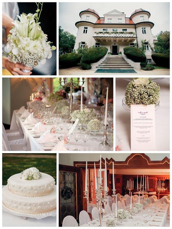 Beispiel: Hochzeitsloction / Tischdekoration, Foto: factsandfeeling.