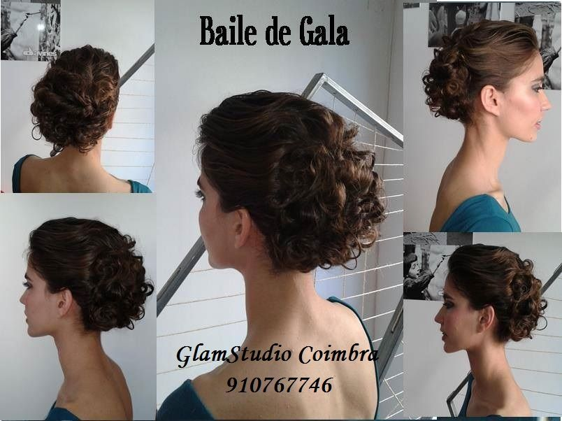 Penteado Baile de Gala