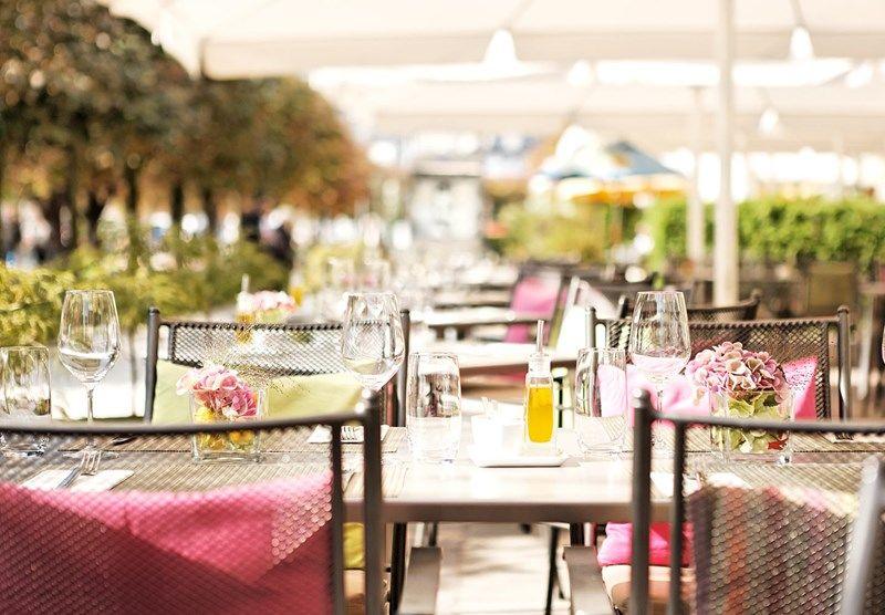 Beispiel: Terrasse, Foto: Restaurant 1871.