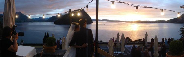 Beispiel: Musikalische Unterhaltung bei Hochzeitsfeier, Foto: Voice Three.