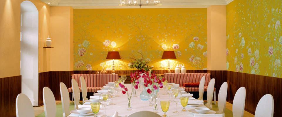 Beispiel: Hochzeitstafel, Foto: Domero Hotel Brandenburger Hof.