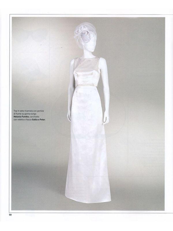 Melania Fumiko su IoDonna Wedding Book SS17