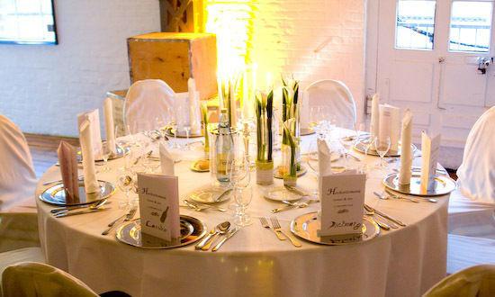 Beispiel: Trendige Dekorationen, Foto: Averhoff Weddings & Events.