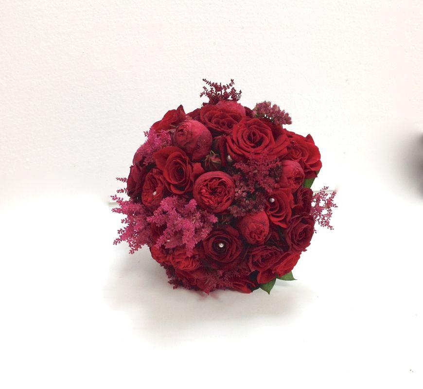 Bouquet rojo pasión