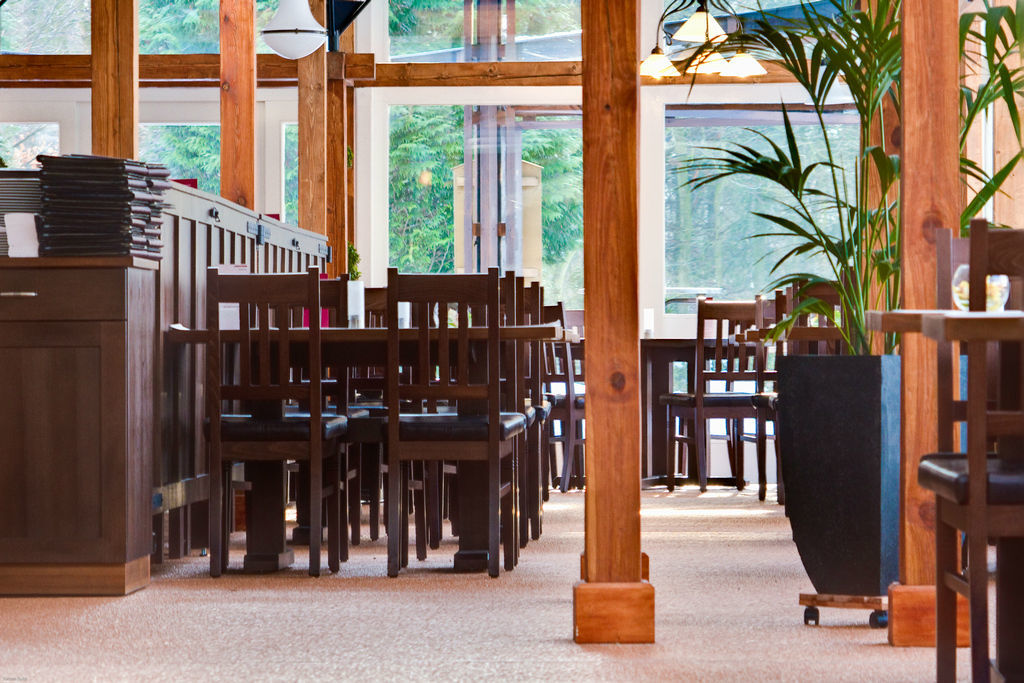 Beispiel: Eindruck vom Restaurant, Foto: Grunewaldturm.