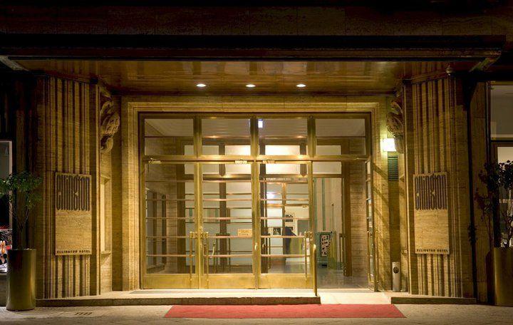 Beispiel: Eingang zum Hotel, Foto: Ellington Hotel.