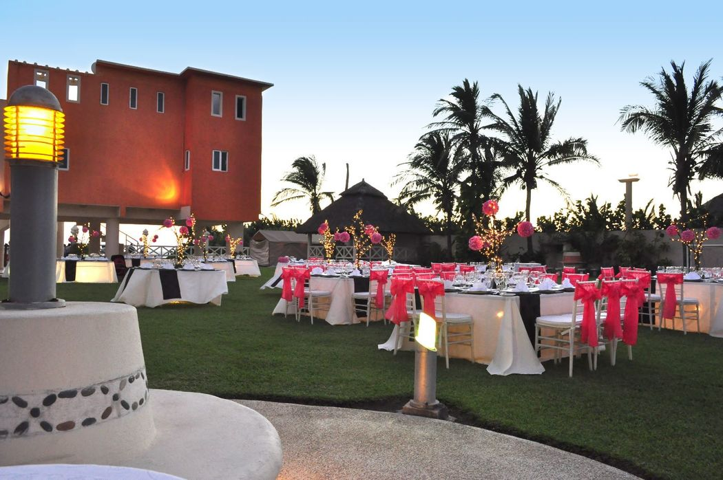 Hermosas locaciones con nuestro servicio de catering