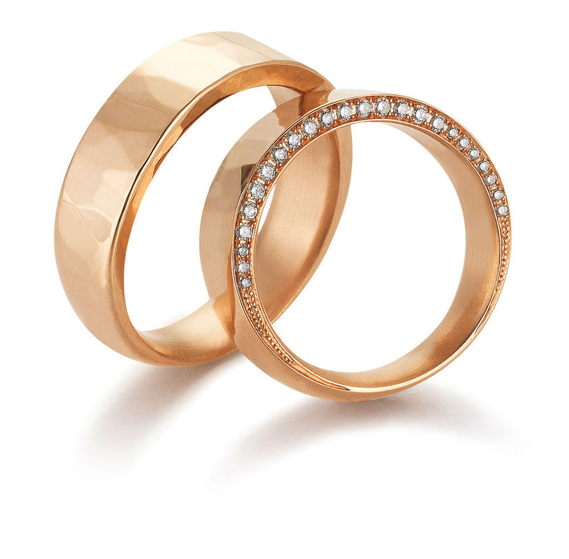 Beispiel: Die Ringe für Ihre Hochzeit, Foto: Arauco.