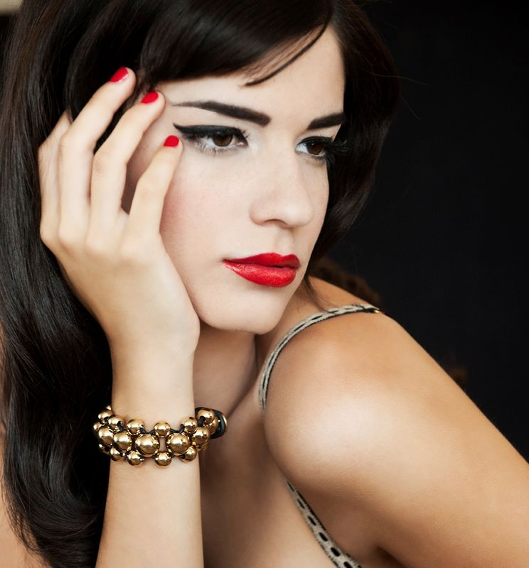 Diana Oliveira, Best Models Lucília Lara- Make Up Foto: Victor Hugo