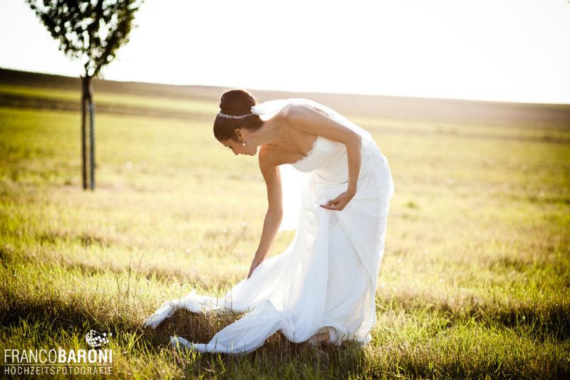 Beispiel: Portrait der Braut, Foto: Franco Baroni.