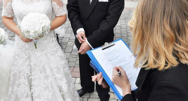 Konsultant ślubny w akcji