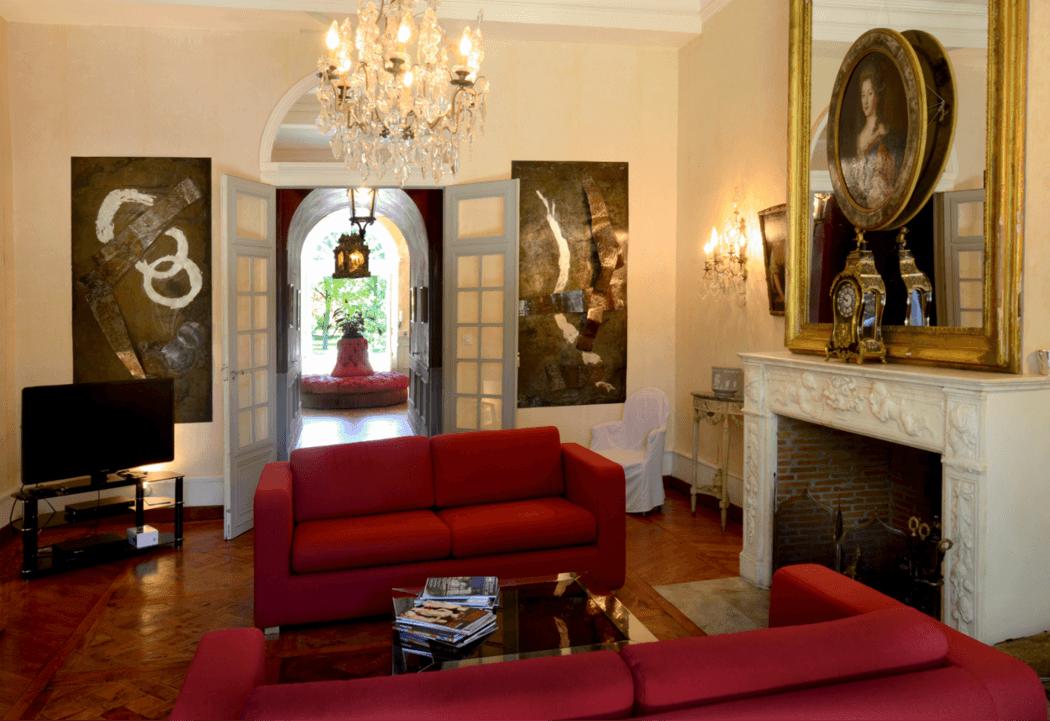 Château de la Commanderie Salon d'été