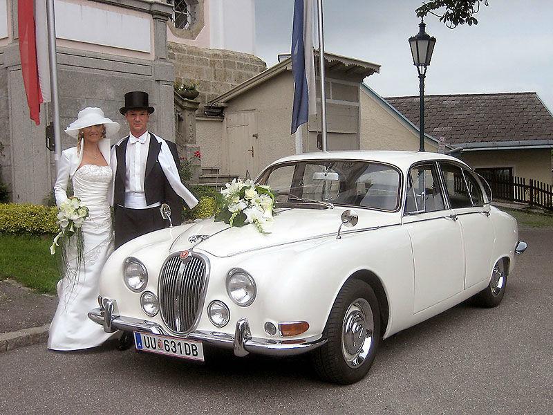 Beispiel: Heiraten Sie mit einem Oldtimer, Foto: Royal Classics Oldtimer.