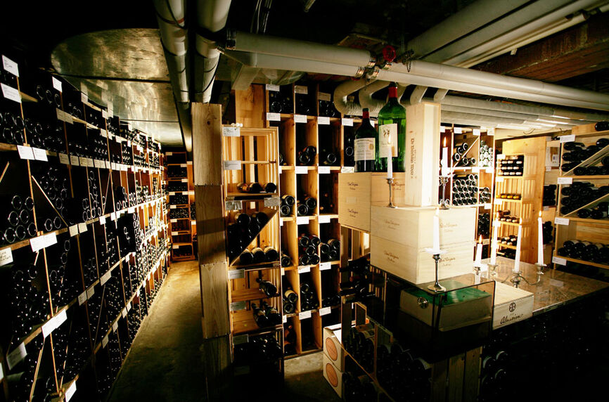 Beispiel: Weinkeller, Foto: Rheinhotel Fischerzunft.