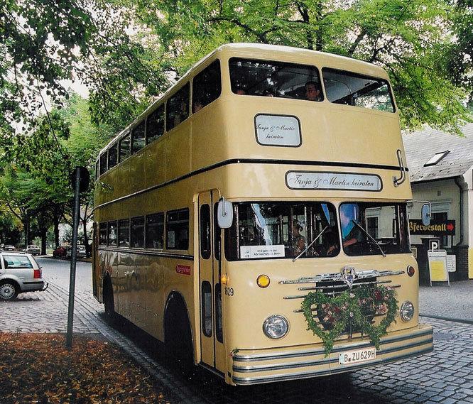 Beispiel: Transport der Hochzeitsgesellschaft, Foto: Der Hochzeiter.