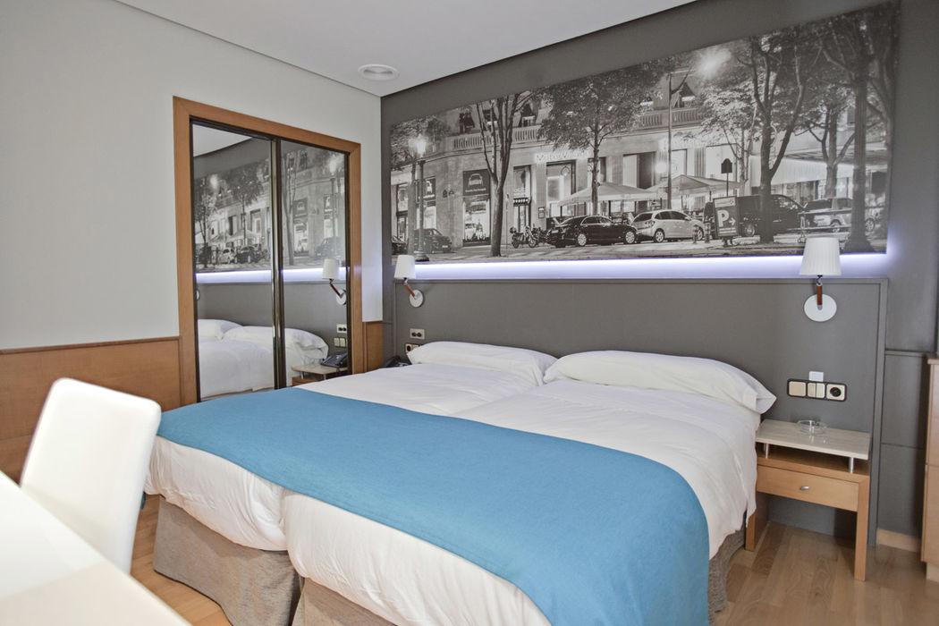 Hotel, 30 habitaciones totalmente equipadas, Restaurante Hotel Don Carlos, Bodas Pamplona (Navarra)