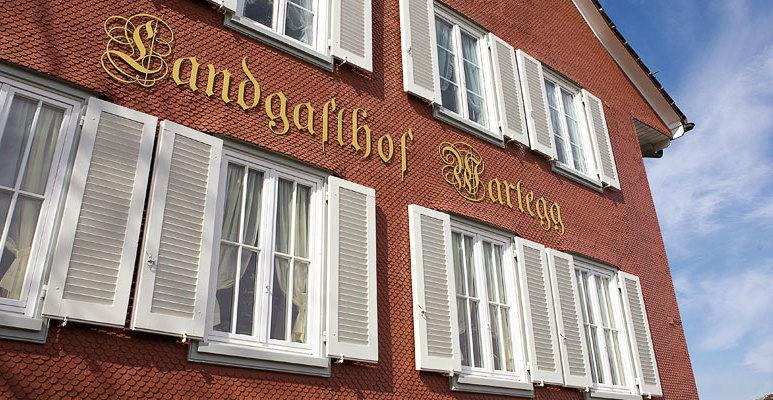 Beispiel: Außenansicht, Foto: Landgasthof Wartegg.