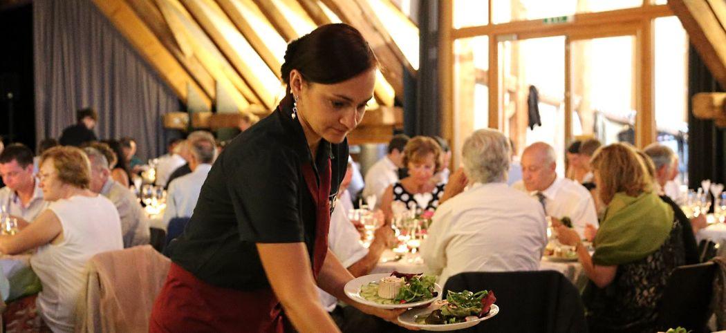 Service im Reberhaus Bolligen durch Gourmetbox Bern.