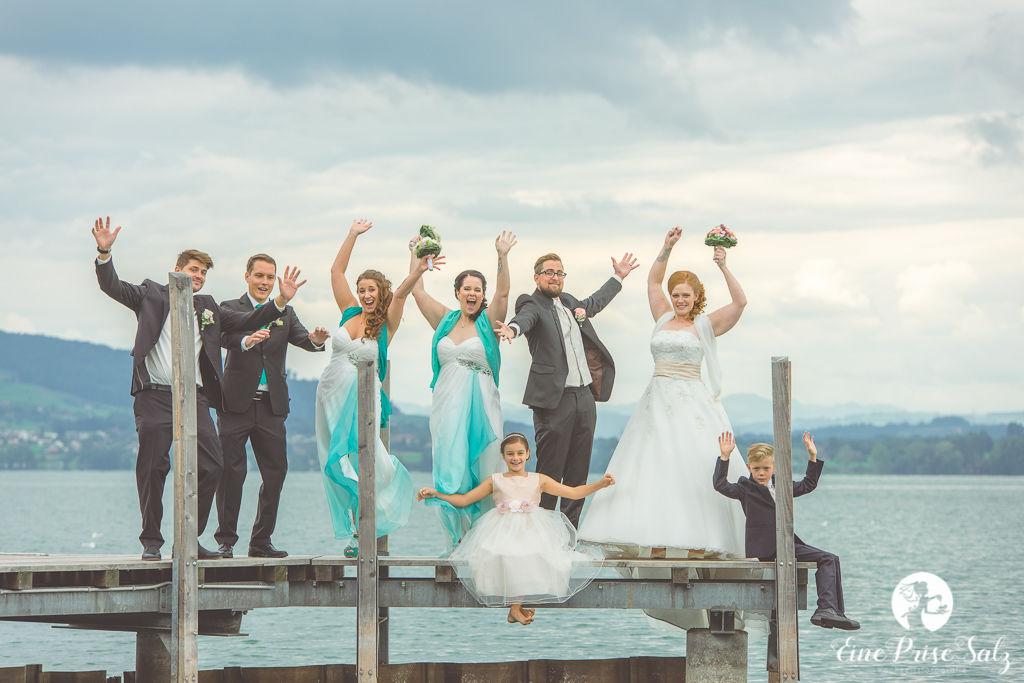 Hochzeitsreportage: Gruppenfotos