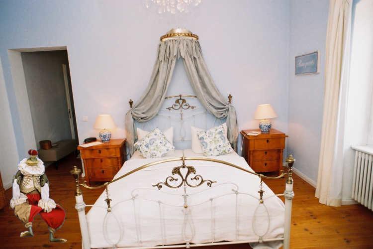 Beispiel: Hotelzimmer, Foto: Schloss Steinhöfel.