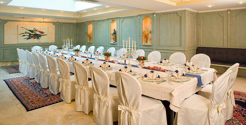 Beispiel: Hochzeitsbankett, Foto: Friedensburg Schlaning.